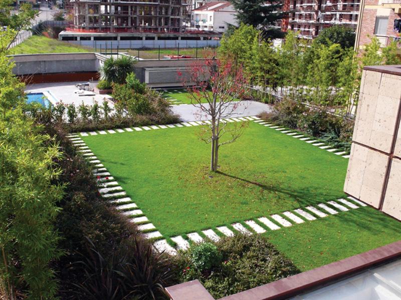Intensivo a giardino pensile harpo spa - Giardino pensile terrazzo ...