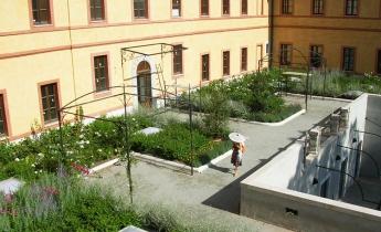casa per anziani - intensivo leggero e pavimentato pedonale