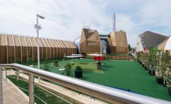 EXPO 2015 - Padiglione Belgio - estensivo a perenni
