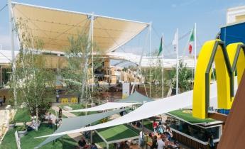 EXPO 2015 - Padiglione McDonald's - estensivo tappezzante a sedum