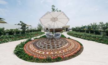 EXPO 2015 - Padiglione Turkmenistan - intensivo a giardino pensile