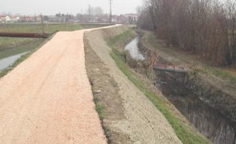 controllo dell'erosione con geostuoia enkamat 7020