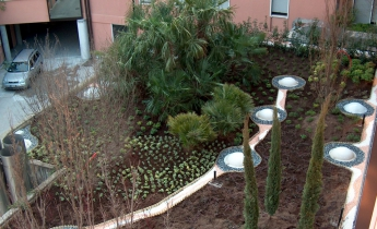 casa di cura giardino pensile