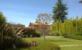 copertura garage giardino pensile