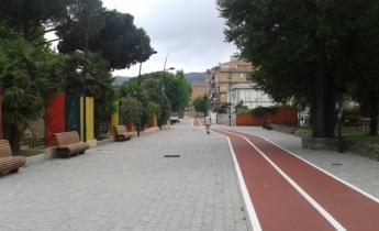 Harpo seic - Vado Ligure, Savona - pista ciclabile