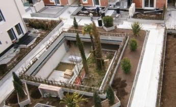 I Murazzi - soluzione a drenaggio continuo e verde pensile