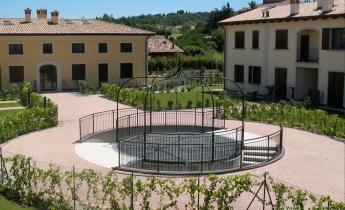complesso abitativo giardino pensile
