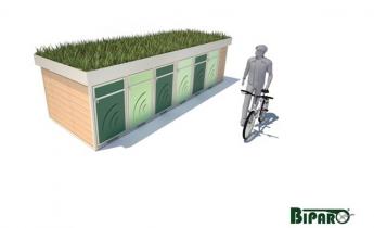 L'E-BIKE SHARING si fa green con il verde pensile