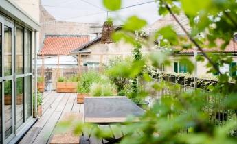 Un'oasi verde fra i tetti di Torino