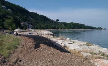 Bonifica della costa di Muggia (TS)