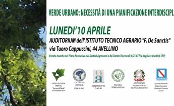 Convegno: Verde Urbano   Avellino 10 aprile