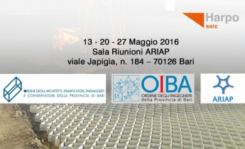 Corso Harpo seic 27 maggio Bari