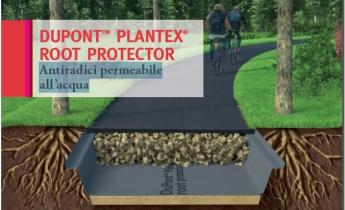 Harpo seic geotecnica - Plantex Root Protector - Antiradici permeabile all'acqua