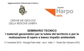 Harpo seic geotecnica - Convegno Perugia