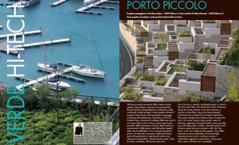 Harpo verdepensile - Porto Piccolo, Sistiana, Trieste