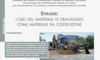 Strade: L'uso del materiale di dragaggio come materiale da costruzione