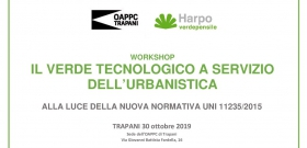 WORKSHOP  Verde Pensile  -  Trapani 30 ottobre 2019