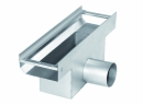 Verdepensile - canaletta di raccolta Tec F scarico laterale - Harpo Group